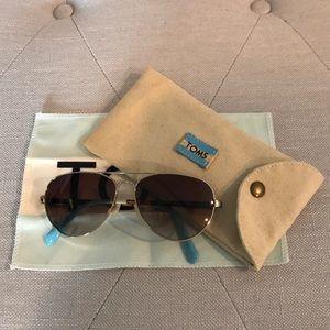 TOMS Maverick Aviator Sunglasses